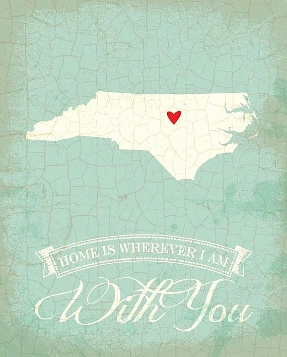 North Carolina Quotes Funny Awesome You Know You Re From North Pertaining To North Carolina Wall Art (Image 7 of 20)