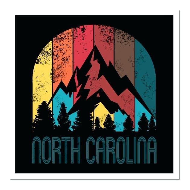 North Carolina Wall Art 0 North Carolina State Wall Art – Payges (Image 11 of 20)