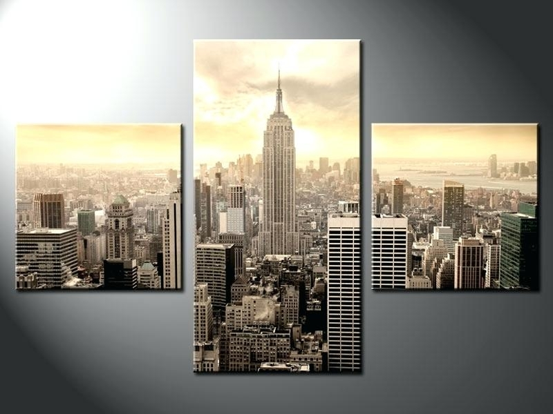 Nyc Canvas Art Canvas Wall Art Wall Art Design New City Canvas Wall For Nyc Wall Art (Image 10 of 25)