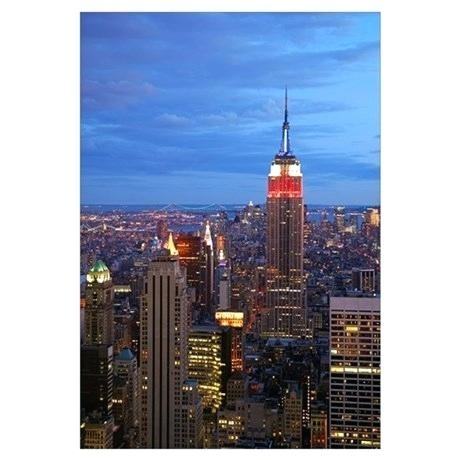Nyc Wall Art Empire State Building Wall Art Vintage Nyc Wall Art Regarding Nyc Wall Art (Image 16 of 25)