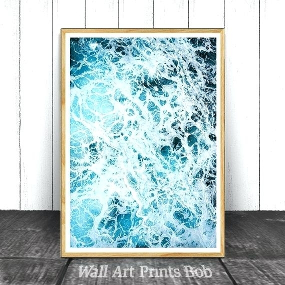 Ocean Wall Art Beach Wall Art Ocean Print Beach Printable Ocean Regarding Ocean Wall Art (Image 13 of 25)