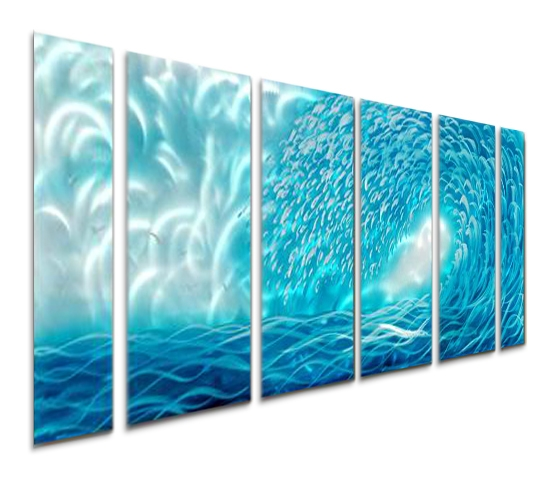 Ocean Wall Art – Zauber Throughout Ocean Wall Art (Image 12 of 25)