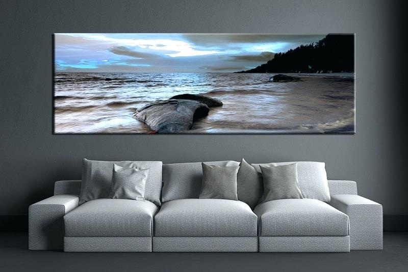 Ocean Wall Decor Beach Wall Decor For Living Room Wall Art Large Pertaining To Ocean Wall Art (Image 15 of 25)
