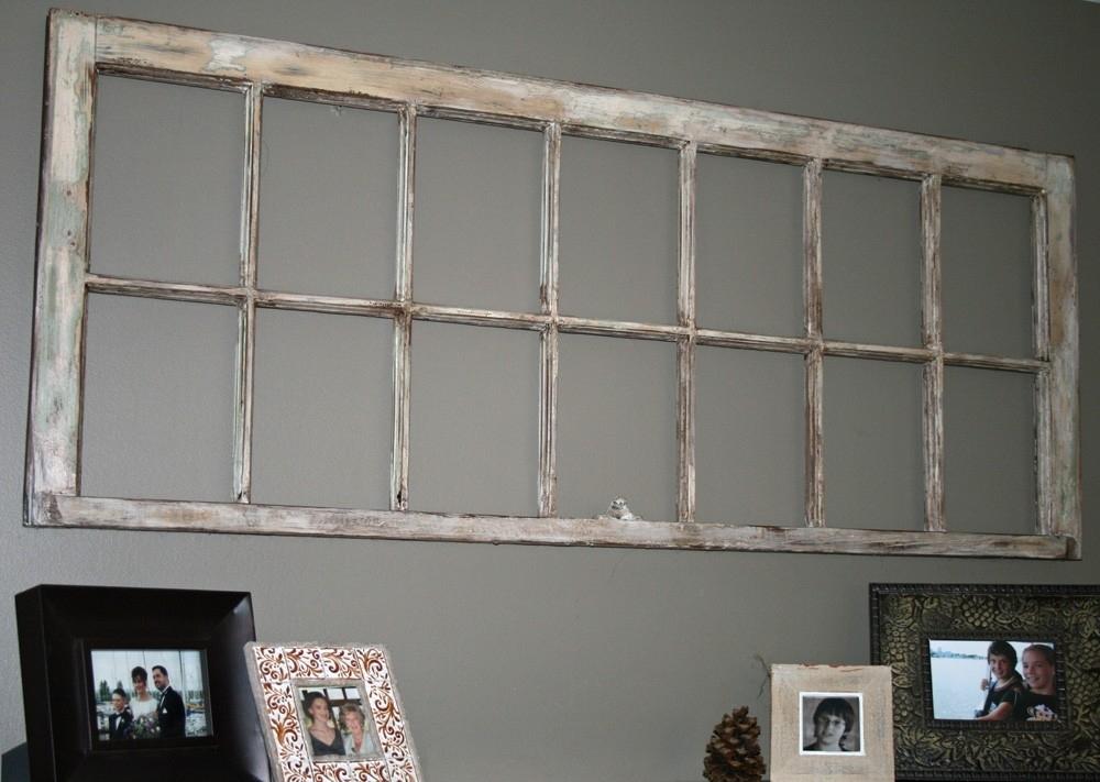 Old Flaky Repurposed Window Frame Wall Art Dejavuhome Etsy – Tierra Pertaining To Window Frame Wall Art (Image 3 of 10)