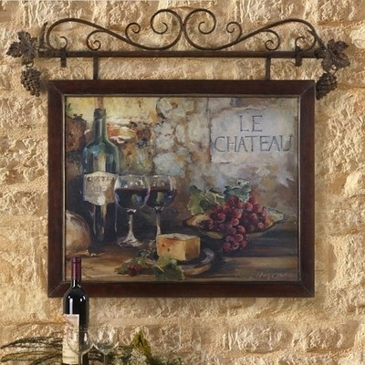 Old World Italian Style Tuscan Wall Art Mediterranean Wall Decor Intended For Tuscan Wall Art (Image 6 of 25)