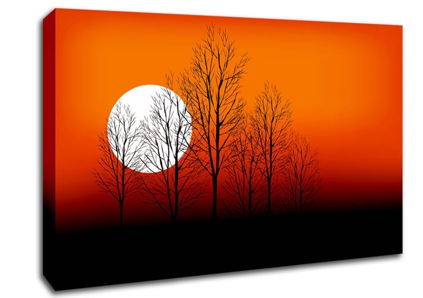 Orange Wall Art And Wall Decor | Wallartdirect.co.uk inside Orange Wall Art