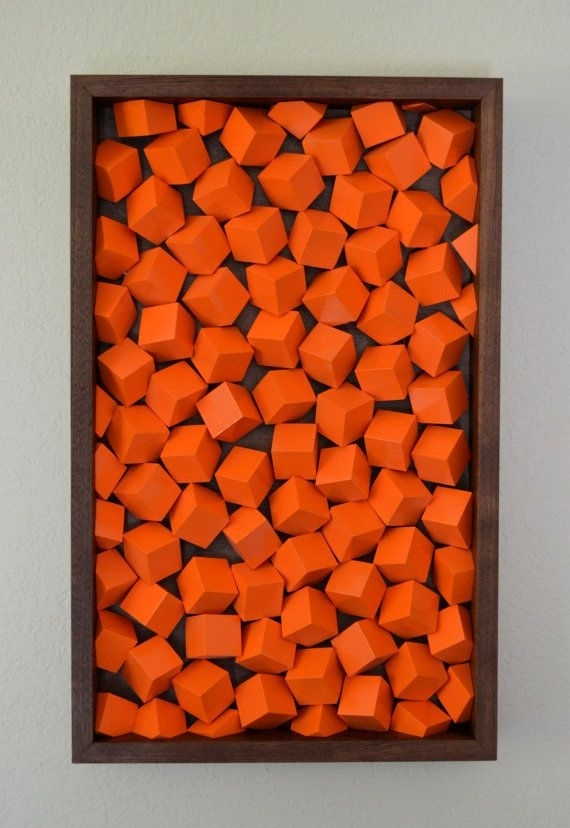 Orange Wall Art Orange Wall Art Cool Orange Wall Art Home Design Throughout Orange Wall Art (Image 20 of 25)