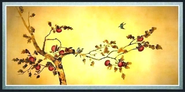 Oriental Wall Decor Lotus Wall Decals – Forjadosyhierros (Image 19 of 25)