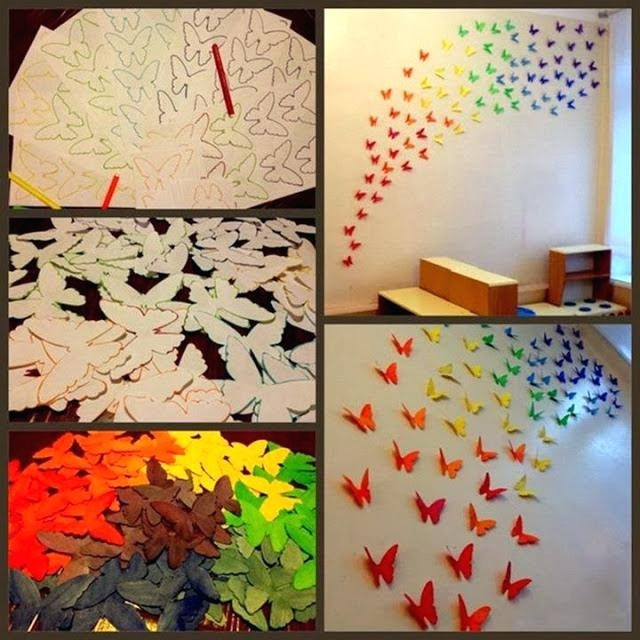 Origami Wall Art Paper Wall Art Projects You Can Do In Your Free For Paper Wall Art (Image 18 of 25)