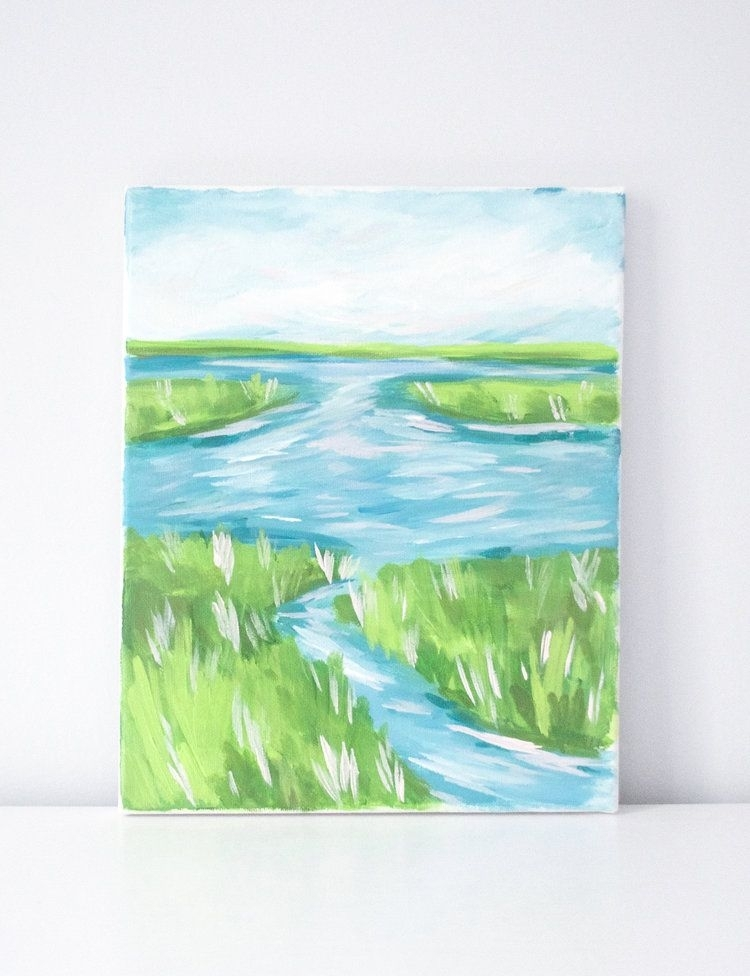 "Original Acrylic Painting | 8""x10"" Canvas Painting 