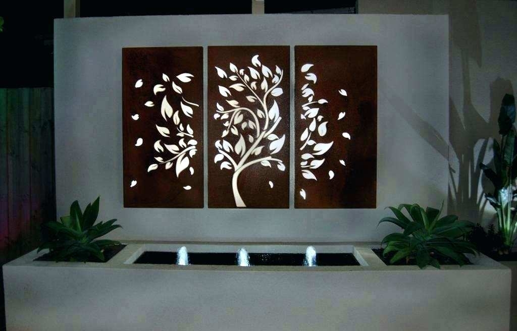 Outdoor Iron Wall Art Outdoor Wall Art Decor Outside Metal Wall Art with Large Outdoor Wall Art