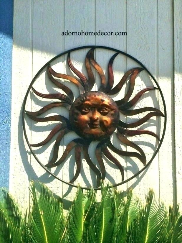 Outdoor Metal Decor Outdoor Metal Wall Decor Metal – Rebolt.co in Metal Outdoor Wall Art
