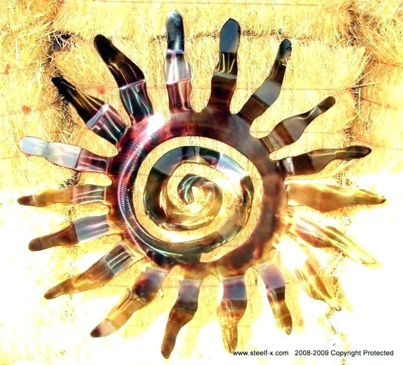 Outdoor Metal Sun Wall Art Metal Sun Wall Art Outdoor Outdoor Metal for Outdoor Sun Wall Art