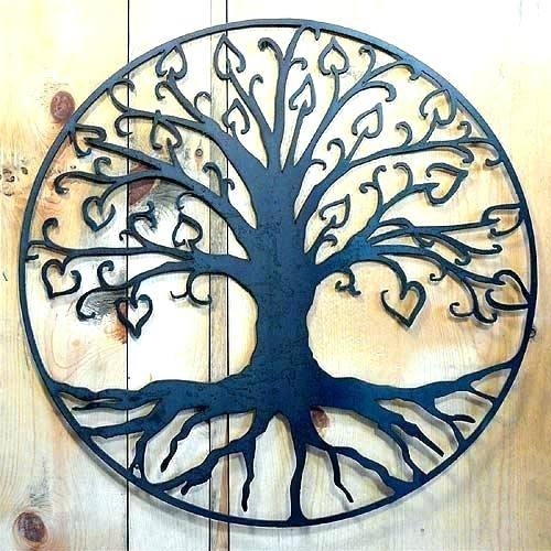 Outdoor Wall Art Metal Large Outdoor Wall Hangings Metal Large Regarding Large Outdoor Wall Art (Image 20 of 25)