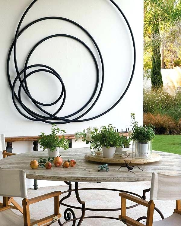 Outdoor Wall Art Metal Metal Wall Art Decorating Ideas Interest For Outdoor Wall Art (View 7 of 10)