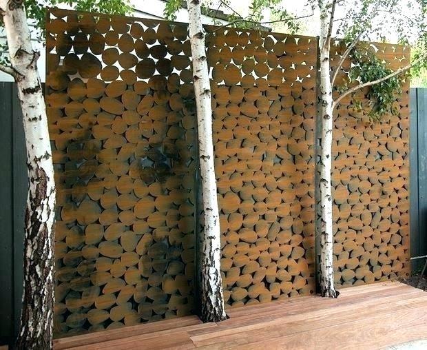 Outdoor Wall Art Metal – Ninjahacks.club pertaining to Metal Outdoor Wall Art
