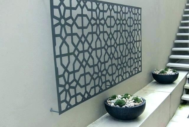 Featured Image of Large Outdoor Wall Art