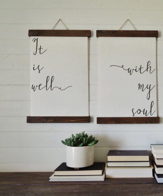Outstanding 25 Creative Wall Art Decor Ideas On Pinterest Diy Wall Regarding Kitchen Canvas Wall Art Decors (Image 24 of 25)