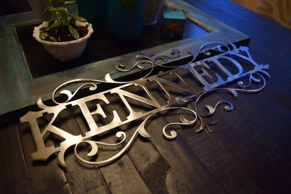 Outstanding Wall Art Design Ideas Personalized Metal Wall Art With Personalized Metal Wall Art (Image 19 of 20)