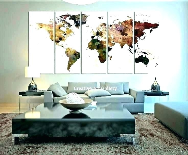 Oversized Decorative Wall Clock Oversized Wall Decor Big Wall Art Within Giant Wall Art (View 23 of 25)