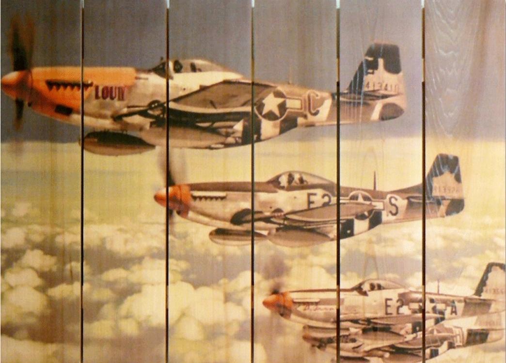 P 51 Mustangs Airplane Art | Indoor Outdoor Aviation Art | Airplane Regarding Aviation Wall Art (View 2 of 25)