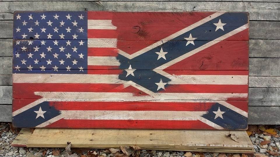 Pallet American Flag Wall Art | Pinterest | American Flag Wall Art Throughout Wooden American Flag Wall Art (Image 5 of 25)