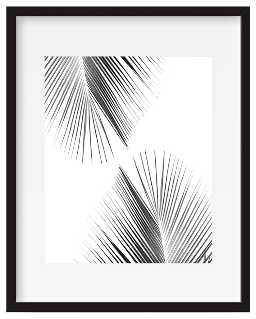 Palm Leaf, Tropical Wall Art, Poster Print – Tropical – Prints And Within Tropical Wall Art (Image 9 of 20)