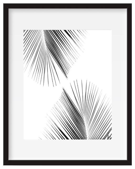 Palm Leaf, Tropical Wall Art, Poster Print – Tropical – Prints And Within Tropical Wall Art (Image 9 of 20)