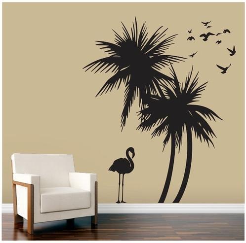 Palm Tree Wall Art Regarding Palm Tree Wall Art (Image 12 of 25)