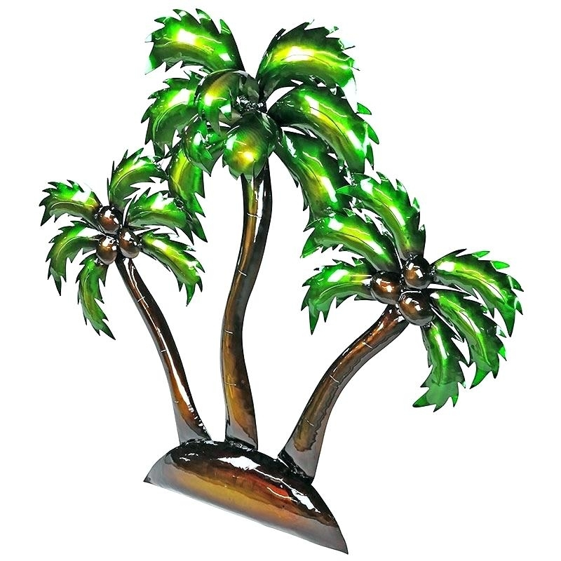 Palm Trees Wall Decor Palm Tree Wall Decor Design Metal Palm Tree Inside Palm Tree Wall Art (Image 18 of 25)