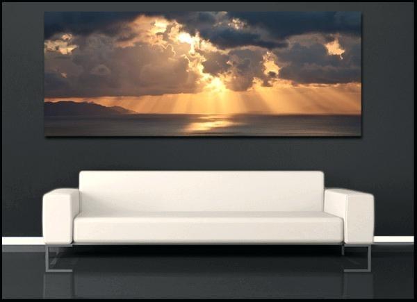 Panoramic Wall Art – Fallow Pertaining To Panoramic Wall Art (Image 7 of 10)