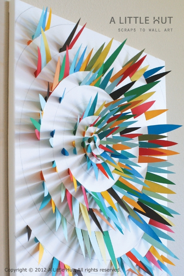 Paper Scrap Wall Stunning Paper Wall Art – Wall Decoration And Wall Within Paper Wall Art (Image 19 of 25)