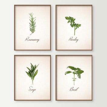 Peaceful Inspiration Ideas Herb Wall Art Interior Decorating Shop On With Regard To Herb Wall Art (Image 17 of 20)