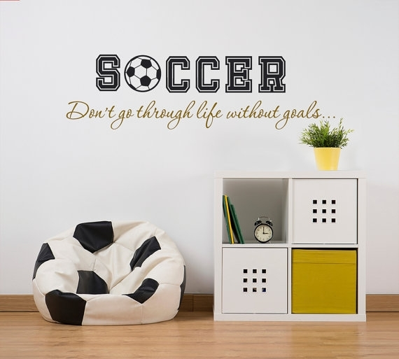 Peachy Design Ideas Soccer Wall Art Interior Designing The Sport Within Soccer Wall Art (Image 9 of 25)