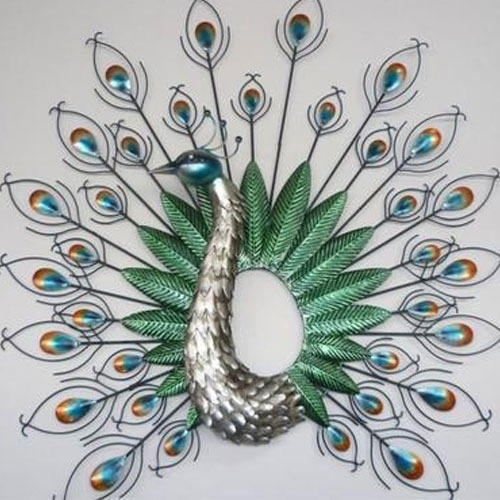 Peacock Wall Art, Deewar Kala, दिवार चित्रकारी – G. G (Image 5 of 10)