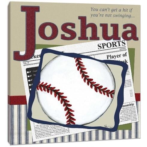 Personalized Baseball Wall Art Throughout Baseball Wall Art (Image 20 of 25)