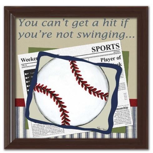 Personalized Baseball Wall Art Within Baseball Wall Art (Image 21 of 25)