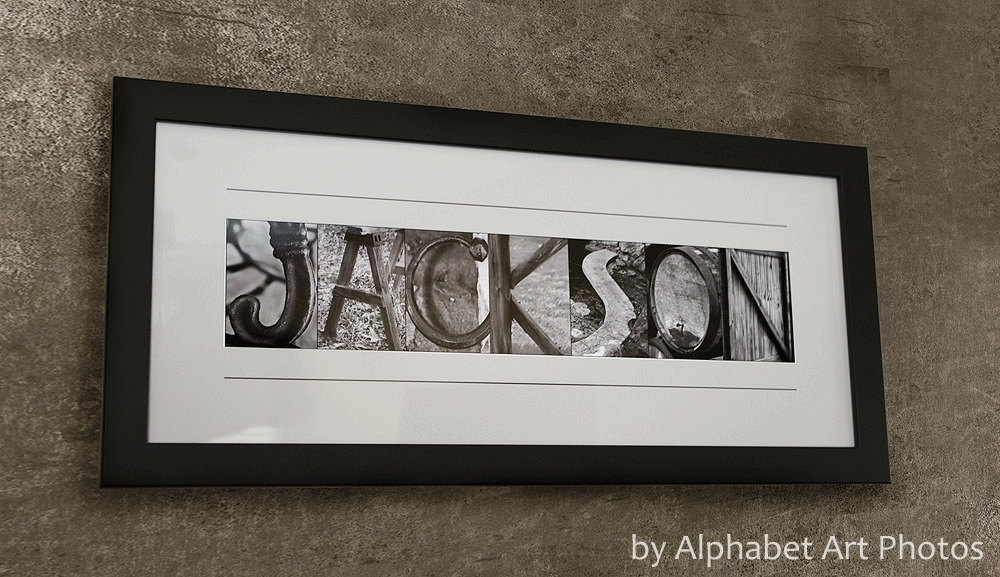Featured Photo of Family Name Wall Art