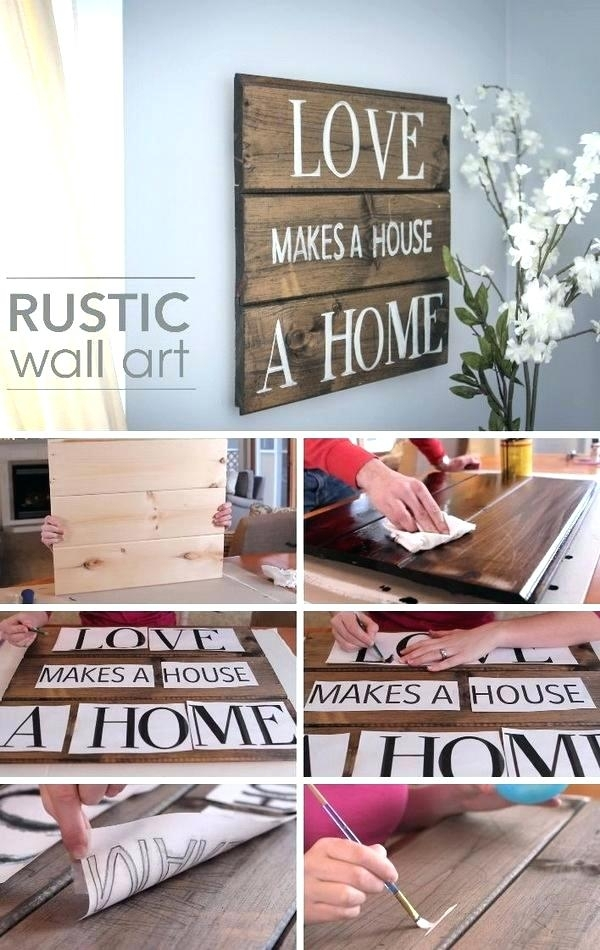 Personalized Wood Wall Decor Rustic Wood Wall Decor Rustic Wood Wall With Regard To Personalized Wood Wall Art (Image 14 of 25)