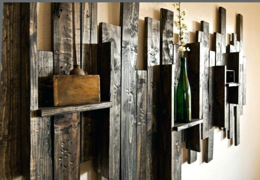 Picture 10 Of 11 Rustic Wall Art Wood And Metal Youtube Inside Decor For Large Rustic Wall Art (Image 19 of 25)