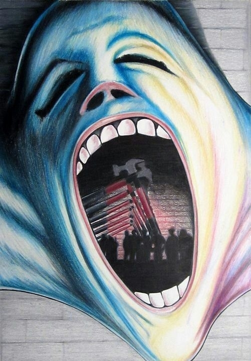 Featured Photo of Pink Floyd The Wall Art