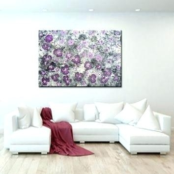 Pink And Grey Wall Art Magnificent Wall Art Pink Pictures Wall With Regard To Purple And Grey Wall Art (Image 14 of 25)