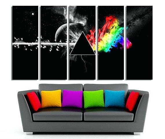 Pink Floyd Canvas Wall Art Canvas Art Sets For Sale – Sonimextreme Pertaining To Wall Art Sets (View 6 of 10)