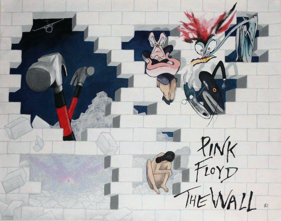 Pink Floyd The Wall Art – Home Decor Throughout Pink Floyd The Wall Art (Image 12 of 20)