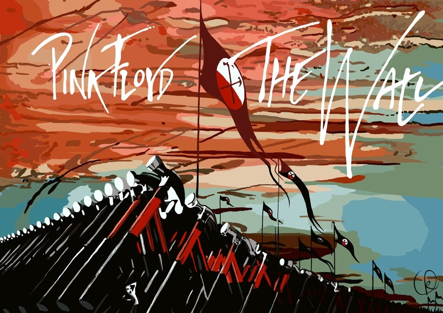 Pink Floyd – The Wallblackcyanide Fr On Deviantart For Pink Floyd The Wall Art (Image 9 of 20)