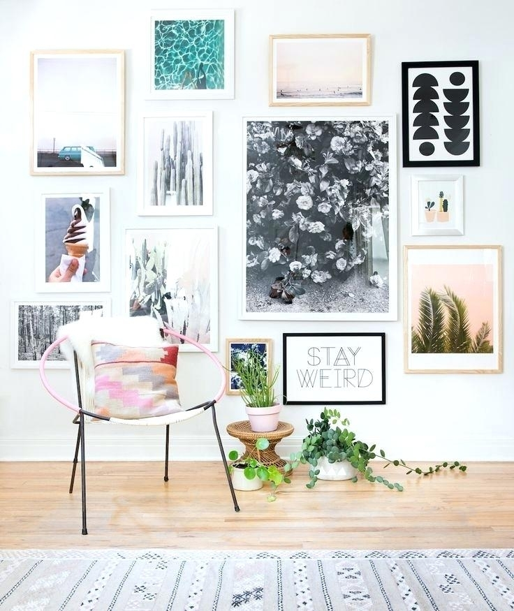 Pinterest Pictures On Wall Best Bohemian Wall Art Ideas On Cute Art In Bohemian Wall Art (View 3 of 25)