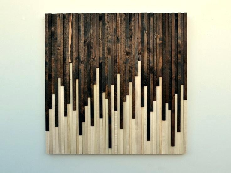 Plank Wall Art Wood Planks Home Decor And Design 8 Collection Clock Inside Plank Wall Art (Image 9 of 20)
