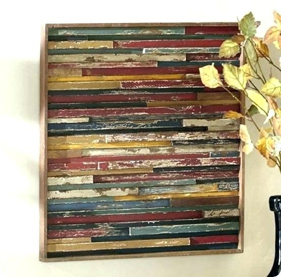 Planked Wall Art Wood Planks Wall Art Plank Org Inside Decor Remodel Within Plank Wall Art (Image 10 of 20)