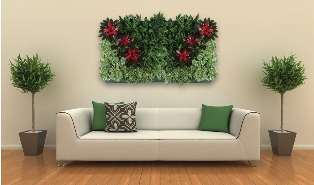 Plant Portraits – Living Wall Art – Indoor Green Wall For Living Wall Art (Image 21 of 25)
