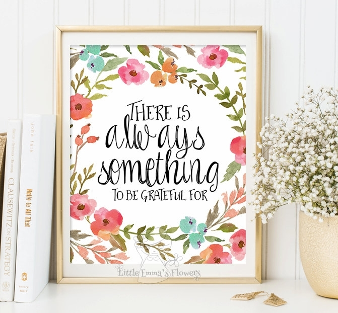 Pleasurable Quote Wall Art Home Decoration Ideas Kids Print Decor Pertaining To Quote Wall Art (View 18 of 25)